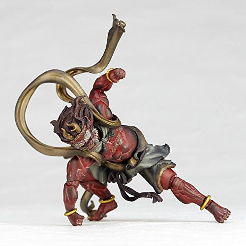 Image 12 for KT Project KT-EX05 - Revoltech - Raijin - Red (Kaiyodo)