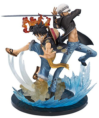 Image 1 for One Piece - Monkey D. Luffy - Trafalgar Law - Figuarts ZERO - -5th Anniversary Edition- (Bandai)