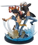 Thumbnail 1 for One Piece - Monkey D. Luffy - Trafalgar Law - Figuarts ZERO - -5th Anniversary Edition- (Bandai)