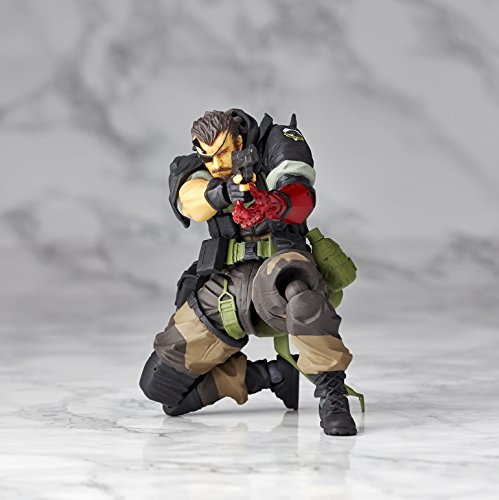 Image 3 for Metal Gear Solid V: The Phantom Pain - Naked Snake - Revolmini rm-012 - Revoltech - Venom ver. (Kaiyodo)