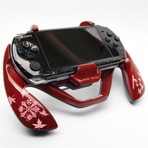 Image 8 for Monster Hunter Portable 3rd Hunting Grip S (Yukumo Red)