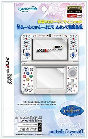 Image for Protection Filter Decoration Seal Set for New Nintendo 3DS (Anna & Elsa)