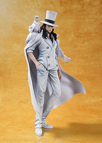 One Piece Film Gold - Hattori - Rob Lucci - Figuarts ZERO - -One Piece Film Gold ver.- (Bandai)