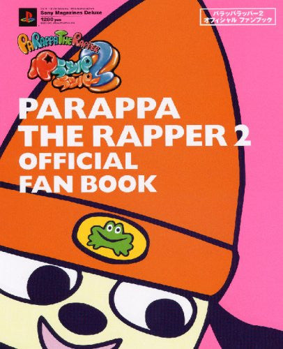 Image 1 for Pa Rappa The Rapper 2 Official Fan Book / Ps