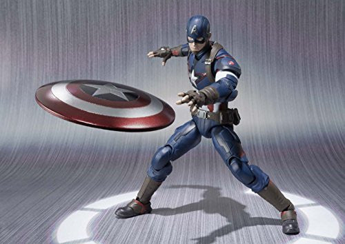 Image 5 for Avengers: Age of Ultron - Captain America - S.H.Figuarts (Bandai)
