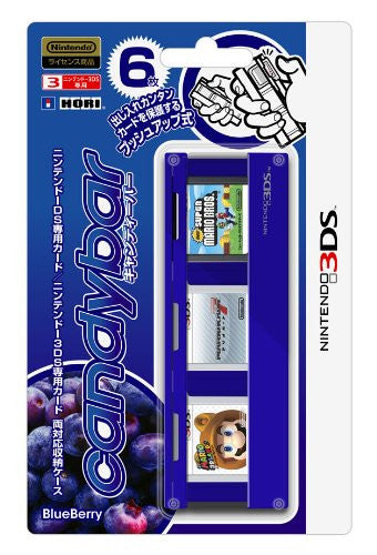 Image 1 for Candybar for Nintendo 3DS [Blue Berry Version]