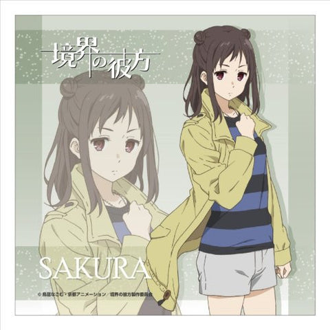 Image for Kyoukai no Kanata - Inami Sakura - Mini Towel - Towel (Contents Seed)