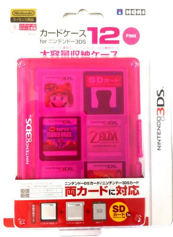 Image for 3DS Card Case 12 (Pink)