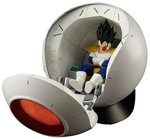 Image 1 for Dragon Ball Z - Vegeta - Figure-rise Mechanics - Figure-rise Standard - Saiyan Space Pod (Bandai)