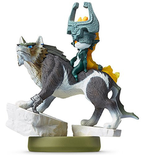 Image 1 for Zelda no Densetsu: Twilight Princess - Midna - Wolf Link - Amiibo (Nintendo)