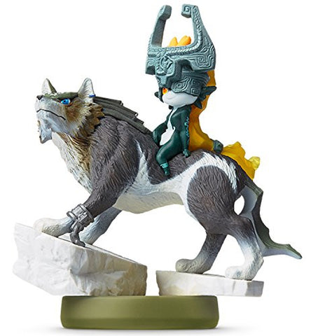 Image for Zelda no Densetsu: Twilight Princess - Midna - Wolf Link - Amiibo (Nintendo)