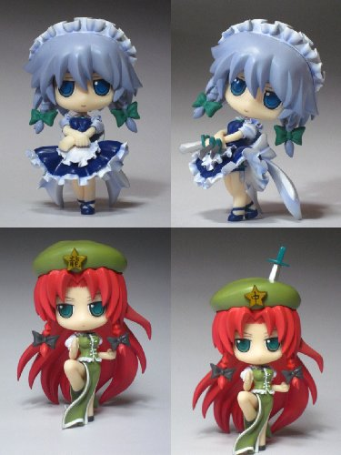 Image 1 for Touhou Project - Hong Meiling - Izayoi Sakuya - Touhou Super Deformed Series 5