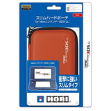 Slim Hard Pouch for New 3DS LL (Red) - 1