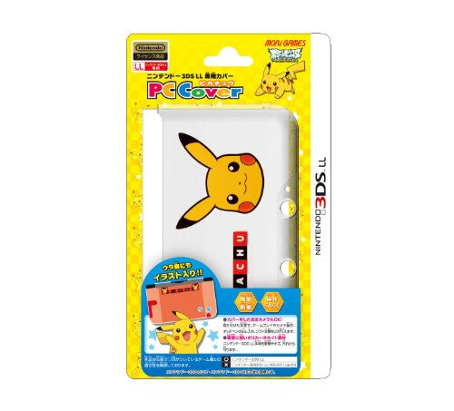 Image 1 for Pocket Monster PC Cover for 3DS LL [Pikachu L Version]