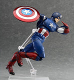 Thumbnail 3 for The Avengers - Captain America - Figma #226 (Max Factory)