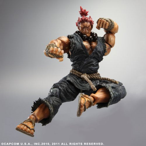 Image 2 for Super Street Fighter IV - Gouki - Play Arts Kai (Square Enix)