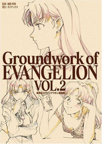 Image 1 for Groundwork Of Evangelion #2 Illustration Art Book