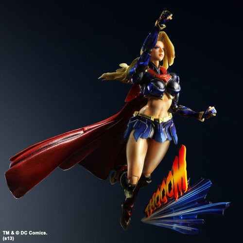 Image 8 for DC Universe - Supergirl - Play Arts Kai - Variant Play Arts Kai - Variant (Square Enix)