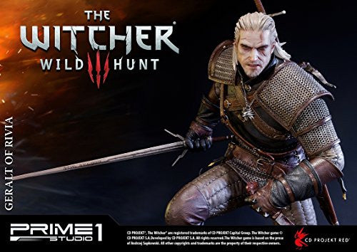 Image 12 for The Witcher 3: Wild Hunt - Geralt - Howler - Premium Masterline PMW3-01 - 1/4 (Prime 1 Studio)