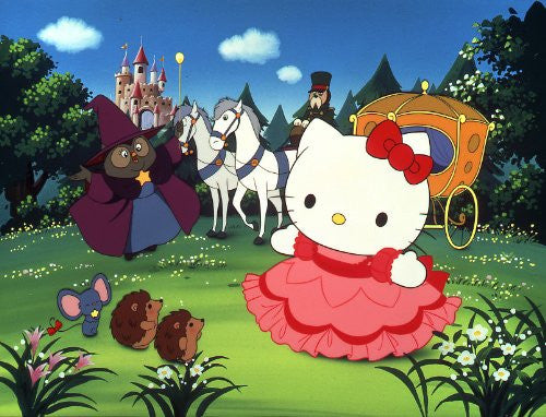 Image 2 for Hello Kitty No Cinderella & Kero Kero Keroppi No Sanjyushi Sekai Meisaku Eiga Kan [HD Remastered Edition]