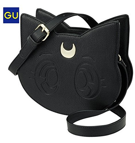Image 1 for Bishoujo Senshi Sailor Moon - GU Collaboration - Luna - Shoulder Bag