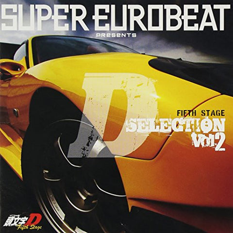 Image for SUPER EUROBEAT presents Initial D Fifth Stage D SELECTION Vol.2