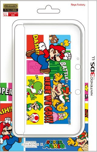 Image 1 for Body Cover for 3DS LL Mario (Type B)