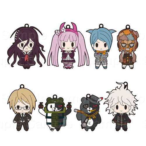 Image 1 for Zettai Zetsubou Shoujo Danganronpa Another Episode - D4 Series Rubber Strap Collection Vol.2 Box