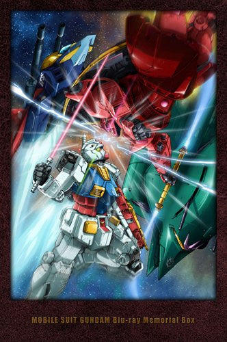 Image 5 for Mobile Suit Gundam Blu-ray Memorial Box [Limited Edition]