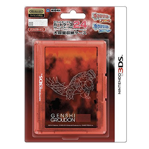 Image for Pokemon Card Case 24 for 3DS (Genshi Groudon)