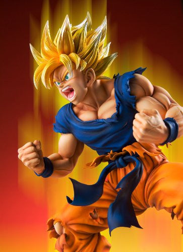 Image 3 for Dragon Ball Kai - Son Goku SSJ - Super Figure Art Collection - 1/8 (Medicos Entertainment)