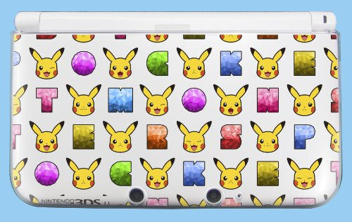 Image 2 for Dress-up Hard Cover for Nintendo 3DS LL (Pikachu & Eievui)