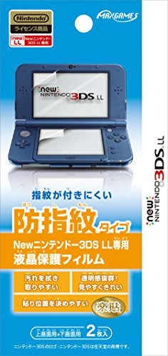 Image 1 for Protection Film for New 3DS LL (Anti Finger Print)