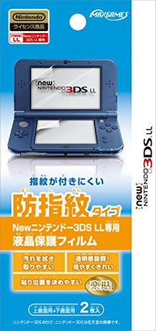 Image for Protection Film for New 3DS LL (Anti Finger Print)