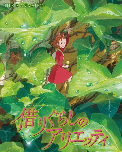 Image 1 for The Borrower Arrietty This Is Animation Illustration Art Book