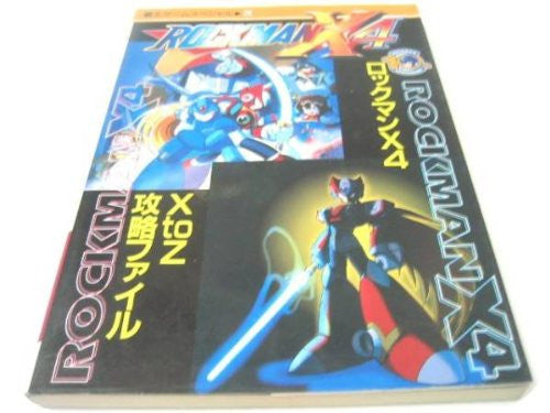 Image 1 for Mega Man X4 X To Z Strategy Guide Book / Ps Ss