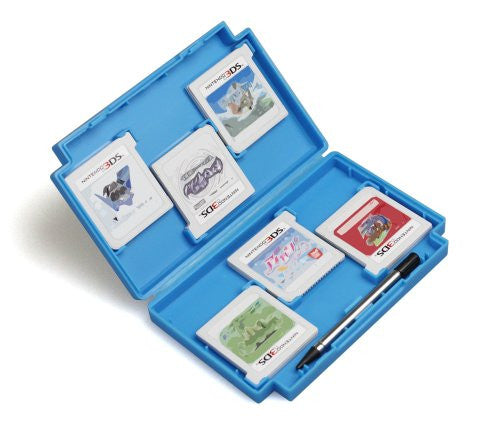 Image 4 for Retro Game Card Case for 3DS (Blue)