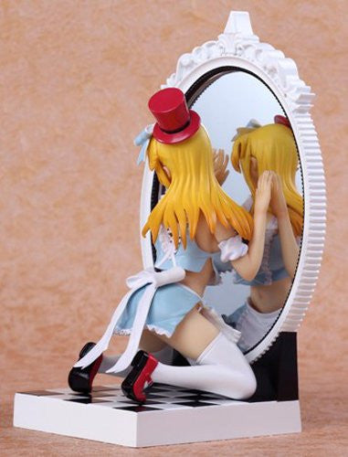 Image 3 for Kagami no Kuni no Alice - Alice - Fairy Tale Figure - 1/8 - Blue Dress ver. (Kaitendoh, Lechery)