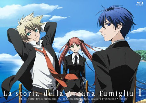 Image for La Storia Della Arcana Famiglia Vol.1 [Blu-ray+CD Limited Edition]