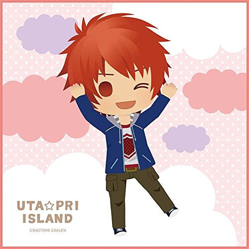 Image 1 for Uta no☆Prince-sama♪ - Ittoki Otoya - Mini Towel - Uta☆Pri Island (Broccoli)