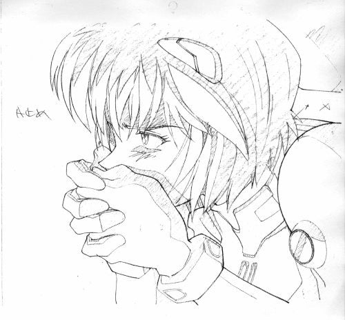 Image 6 for Groundwork Of Evangelion #2 Illustration Art Book