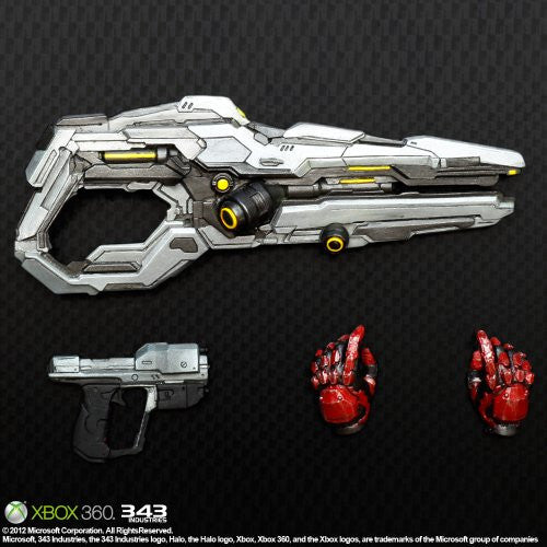 Image 6 for Halo 4 - Spartan Solider - Play Arts Kai - Red (Square Enix)
