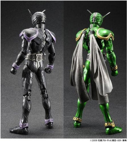 Image 3 for Kamen Rider W - Kamen Rider x Kamen Rider Double & Decade: Movie War 2010 - Kamen Rider Double Cyclone Cyclone - S.I.C. (Bandai)