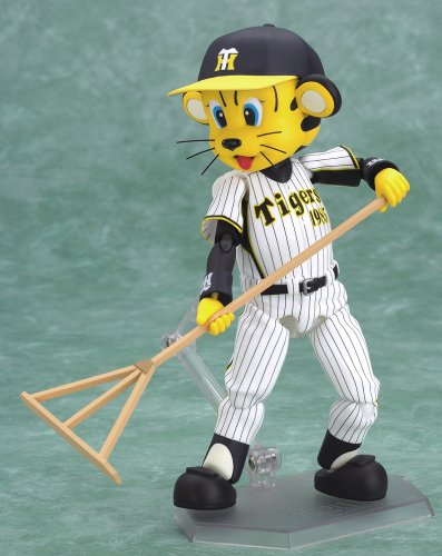 Image 3 for Hanshin Tigers - Tolucky - Figma #021 - Homerun Ver. (Max Factory)