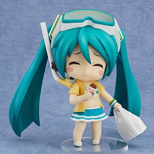 Image 2 for Vocaloid - Hatsune Miku - HappyKuji - HappyKuji Hatsune Miku 2013 Summer ver. - Nendoroid #339a - Family Mart 2013 ver. - Swimsuit ver.