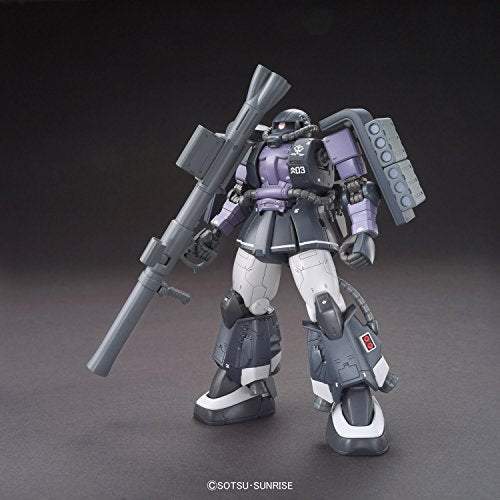 Image 1 for Kidou Senshi Gundam: The Origin - MS-06R-1A Zaku II High Mobility Type - HG Gundam The Origin - 1/144 - Black Tri-Stars, Gaia/Mash Custom (Bandai)