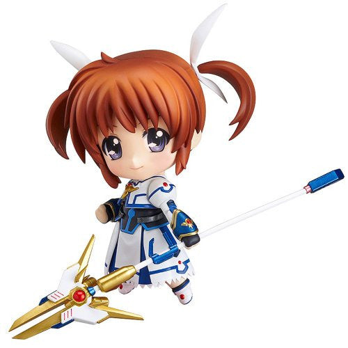 Image 1 for Mahou Shoujo Lyrical Nanoha The Movie 2nd A's - Takamachi Nanoha - Nendoroid #263 - Full Action, Exelion Mode Edition (Good Smile Company)