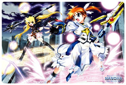 Image 1 for Mahou Shoujo Lyrical Nanoha The Movie 1st - Fate Testarossa - Takamachi Nanoha - Large Format Mousepad - Mousepad (Broccoli)