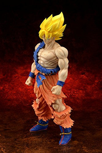 Image 2 for Dragon Ball Z - Son Goku SSJ - Gigantic Series - Damage ver. (X-Plus)