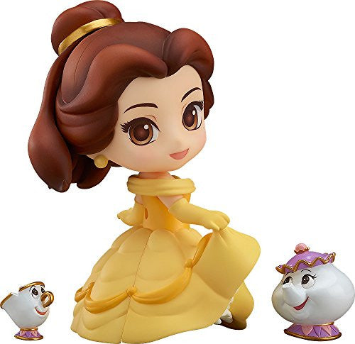 Image 1 for Beauty and the Beast - Belle - Chip - Mrs. Potts - Nendoroid #755